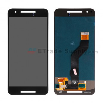 For Huawei Nexus 6P LCD Screen and Digitizer Assembly  Replacement - Black - Without Logo - Grade S+