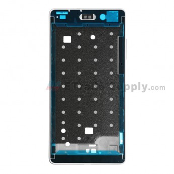 For Huawei P8lite Front Housing Replacement - White - Grade S+