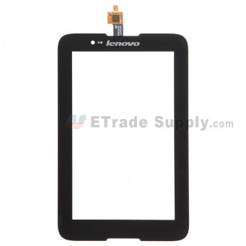 For Lenovo A7-30 A3300 Digitizer Touch Screen Replacement - Black - Grade S+