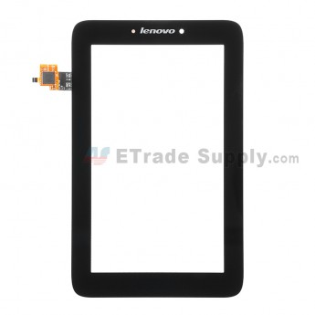 For Lenovo IdeaTab A2107 Digitizer Touch Screen Replacement - Black - Grade S+