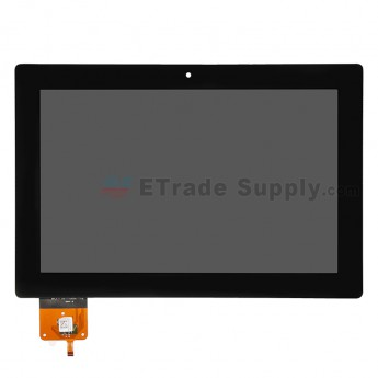 For Lenovo IdeaTab S6000 LCD Screen and Digitizer Assembly Replacement - Black - Without Logo - Grade S+
