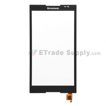 For Lenovo Tab S8-50L Digitizer Touch Screen Replacement - Black - Grade S+