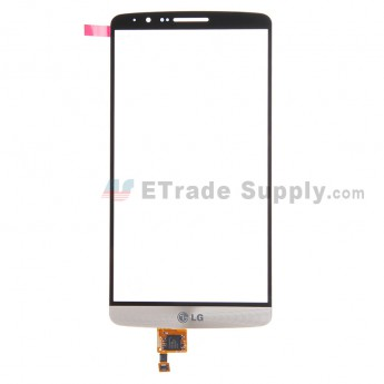 For LG G3 D850 Digitizer Touch Screen Replacement - Gold - With Logo - Grade R