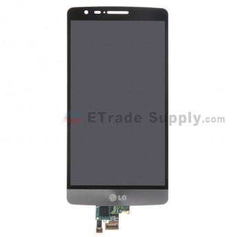 For LG G3 Vigor D725/D722 LCD Screen and Digitizer Assembly Replacement - Gray - With Logo - Grade S+