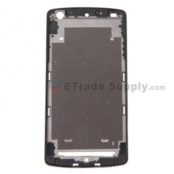 For LG Nexus 5 D820 Front Housing Replacement (White Ear Speaker Mesh Cover) - Black - Grade S+