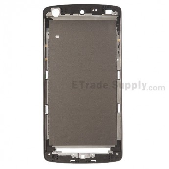 For LG Nexus 5 D821 Front Housing (Black Ear Speaker Replacement Mesh Cover) - Black - Grade S+