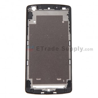 For LG Nexus 5 D820/D821 Front Housing Replacement  (White Ear Speaker Mesh Cover) - Black - Grade S+