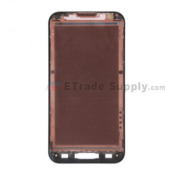 For LG Optimus G Pro E980 Front Housing Replacement - Black - Grade S+
