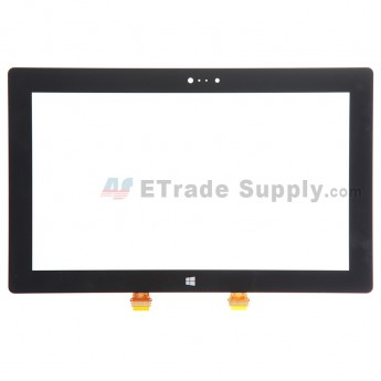 For Microsoft Surface 2 Digitizer Touch Screen Replacement - Black - Grade S+