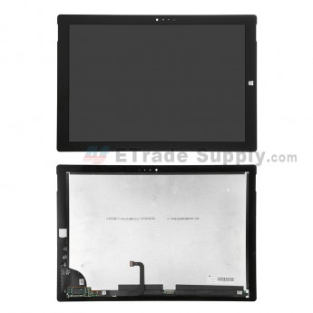 For Microsoft Surface Pro 3 LCD Screen and Digitizer Assembly Replacement (V0.5) - Black - Grade S+