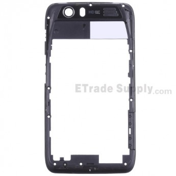 For Motorola Atrix HD MB886 Rear Housing Replacement - Black - Grade R