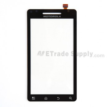 For Motorola Droid 2 A955 Digitizer Touch Screen With Adhesive Replacement (Verizon Wireless) - Grade R