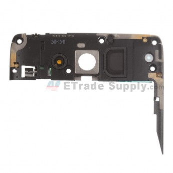 For Motorola Droid MAXX XT1080M Rear Housing Assembly Replacement (Thick) - Black - Grade S+