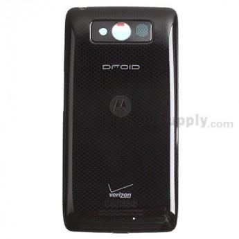 For Motorola Droid Mini XT1030 Battery Door Replacement - Black - Grade S+