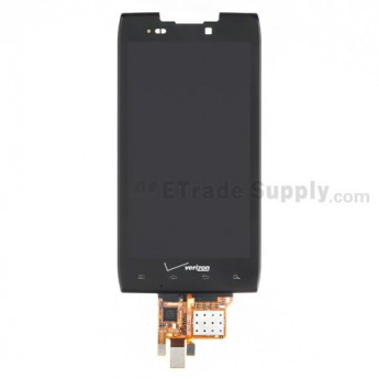 For Motorola Droid RAZR MAXX XT912M LCD Screen and Digitizer Assembly Replacement - With Logo - Grade R