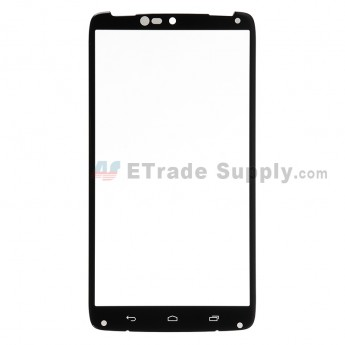 For Motorola Droid Turbo XT1254 Glass Lens Replacement - Black - Grade R