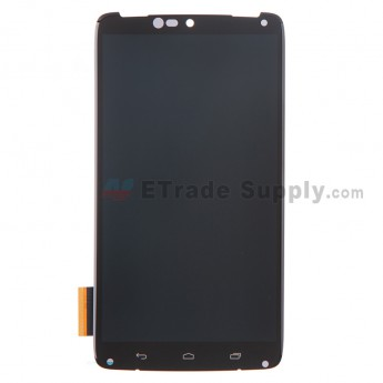 For Motorola Droid Turbo XT1254 LCD Screen and Digitizer Assembly Replacement - Black - Grade S+