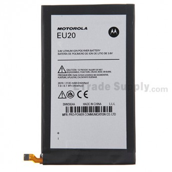 For Motorola Droid Ultra XT1080 Battery Replacement (EU20) - Black - Thin - Grade R