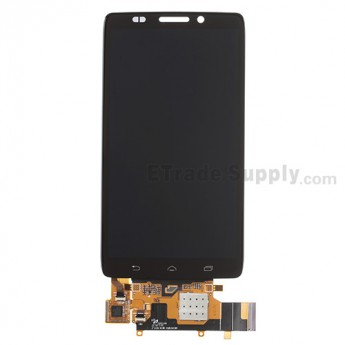 For Motorola Droid Ultra XT1080 LCD Screen and Digitizer Assembly Replacement - Black - Without Any Logo - Grade R