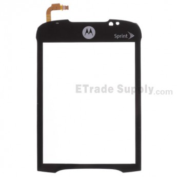 For Motorola ES400 Digitizer Touch Screen with Adhesive Replacement (Version B)