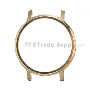 For Motorola Moto 360 (2nd Gen.) Front Housing and Rear Housing Replacement (42mm) - Gold - Grade S+