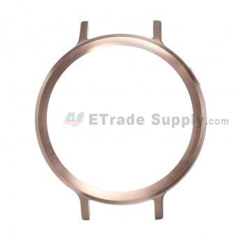 For MT Moto 360 (2nd Gen.) Front Housing and Rear Housing Replacement (42mm) - Rose Gold - Grade S+