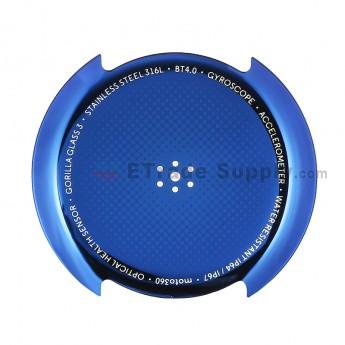 For Motorola Moto 360 Smart Watch Battery Door Replacement - Blue - Grade S+