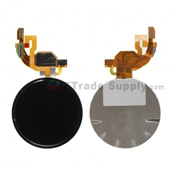 For Motorola Moto 360 Smart Watch LCD Screen and Digitizer Assembly  Replacement - Black - Grade S+