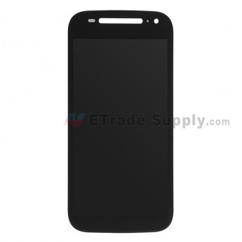 For Motorola Moto E (2nd Gen.) XT1505 LCD Screen and Digitizer Assembly Replacement - Black - Without Any Logo - Grade S+