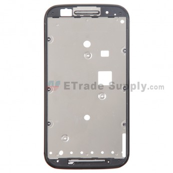 For Motorola Moto E XT1022 Front Housing Replacement - Black - Grade S+