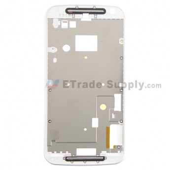 For Motorola Moto G2 Front Housing Replacement - White - Grade S+