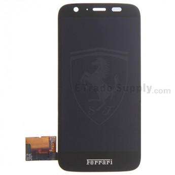 For Motorola Moto G Ferrari Edition XT621 LCD Screen and Digitizer Assembly Replacement - Black - Grade S+