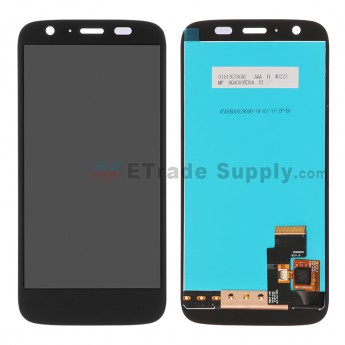For Motorola Moto G XT1032 LCD Screen and Digitizer Assembly Replacement - Black - Without Logo - Grade R