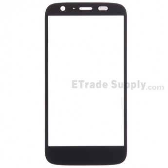 For Motorola Moto G XT1033 Glass Lens Replacement - Black - Without Any Logo - Grade R