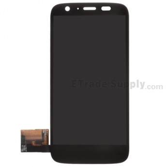 For Motorola Moto G XT1033 LCD Screen and Digitizer Assembly Replacement - Black - Without Any Logo - Grade S