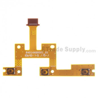 For Motorola Xoom 2 Power Button and Volume Button Flex Cable Ribbon Replacement - Grade S+