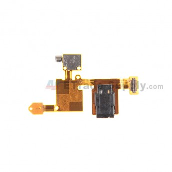For for Nokia Lumia 730 Dual SIM Earphone Jack Flex Cable Ribbon Replacement - Grade S+