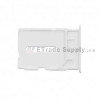 For OnePlus One SIM Card Tray  Replacement - White - Grade S+