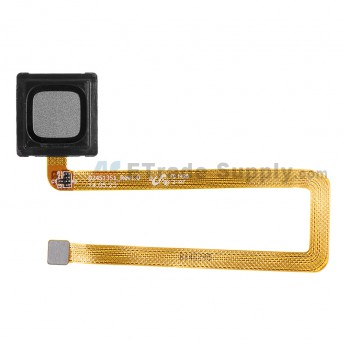 For Reclaimed Huawei Ascend Mate7 Fingerprint Sensor Flex Cable Ribbon Replacement - Black - Grade S+