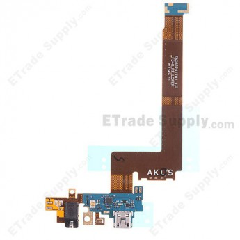 For Reclaimed LG G Flex F340 Charging Port Flex Cable Ribbon  Replacement - Grade S+