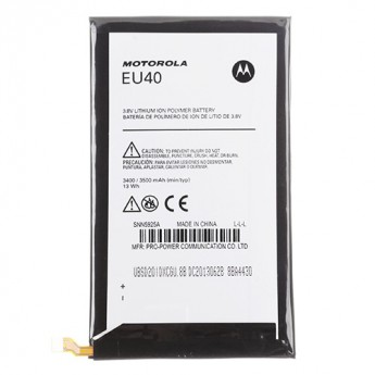 For Reclaimed Motorola Droid MAXX XT1080M Battery(EU40) - Black - Thick - Grade S+
