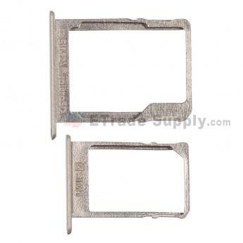 For Samsung Galaxy A3 SM-A300 SIM Card Tray Set Replacement (Micro-SIM Card + Nano-SIM Card ) - Gold - Grade S+