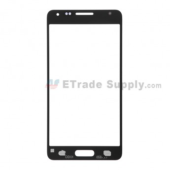 For Samsung Galaxy Alpha Samsung-G850 Glass Lens Replacement - Black - Grade S+