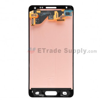 For Samsung Galaxy Alpha SM-G850 LCD Screen and Digitizer Assembly Replacement - White - With Logo - Grade S+