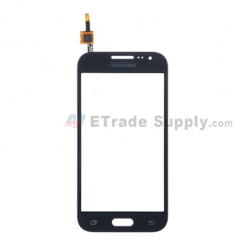 For Samsung Galaxy Core Prime LTE SM-G360G Digitizer Touch Screen Replacement - Black - With Logo - Grade S