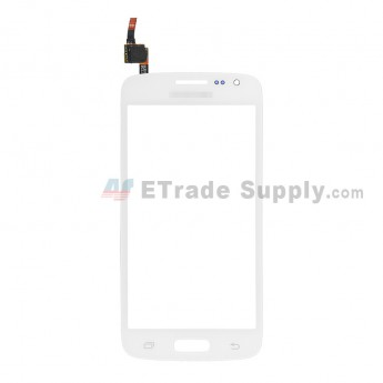 For Samsung Galaxy Express 2 Samsung-G3815 Digitizer Touch Screen Replacement - White - With Logo - Grade S+