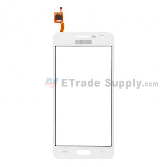 For Samsung Galaxy Grand Prime Samsung-G530H Digitizer Touch Screen Replacement - White - With Logo - Grade S+