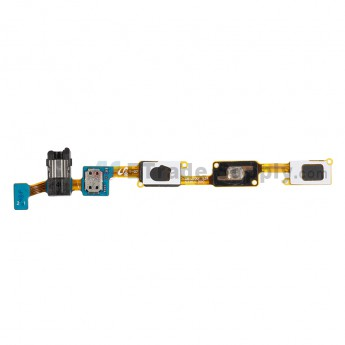 For Samsung Galaxy J7 SM-J700F Navigator Flex Cable Ribbon with Earphone Jack Replacement - Grade S+