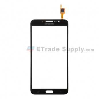 For Samsung Galaxy Mega 2 LTE SM-G750A Digitizer Touch Screen Replacement - Black - With Logo - Grade S+