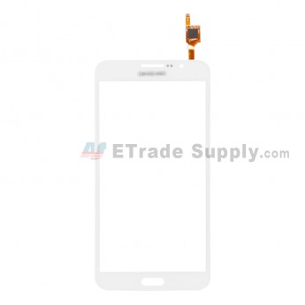 For Samsung Galaxy Mega 2 LTE SM-G750A Digitizer Touch Screen Replacement - White - With Logo - Grade S+